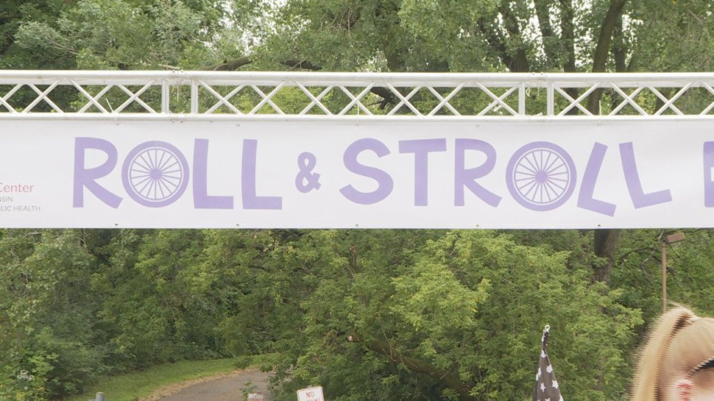 Roll and Stroll supports pancreatic cancer research