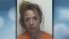 Woman accused of making meth in tent