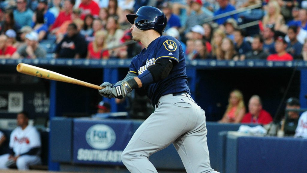 Braun's blast leads Brewers to 3-2 win