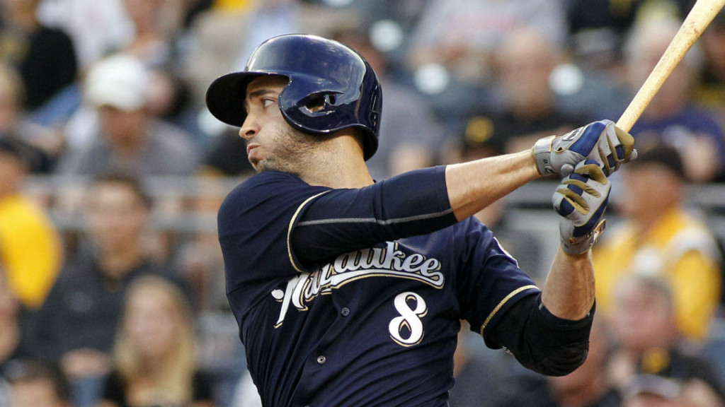 Brewers' bats flat in 8-2 loss to Reds