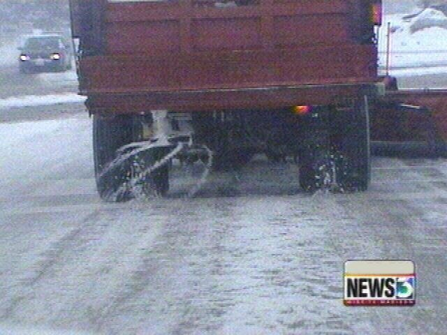 Municipalities stretch salt supply as snow continues to fall