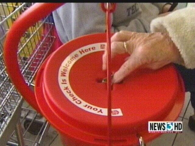 Wis. Salvation Army kettle drive falling short