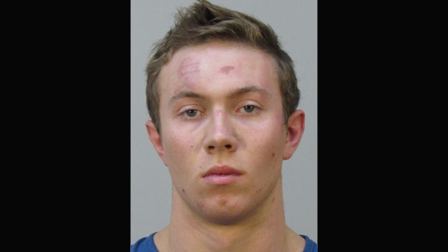 Man fights bouncers, police during bar disturbance