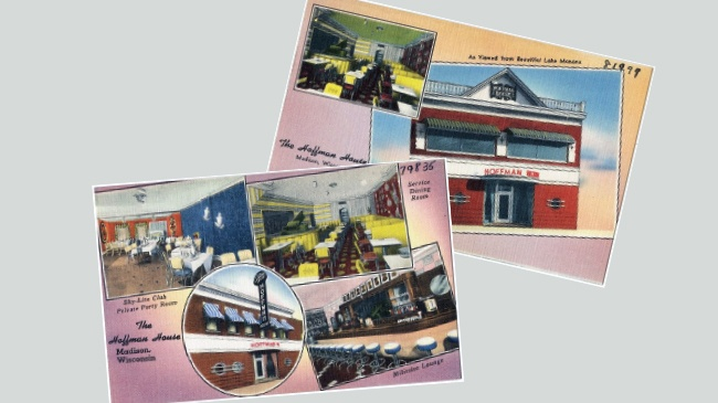 Postcards are snapshot of Hoffman House history