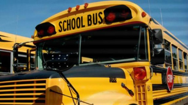 New Glarus school bus struck trying to avoid crash