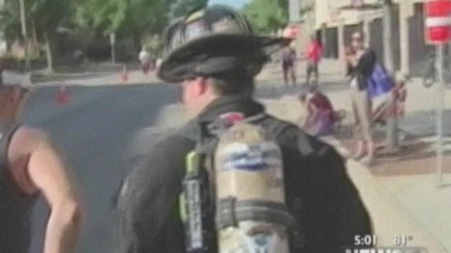 Firefighter honors 9/11 rescue workers in unique way
