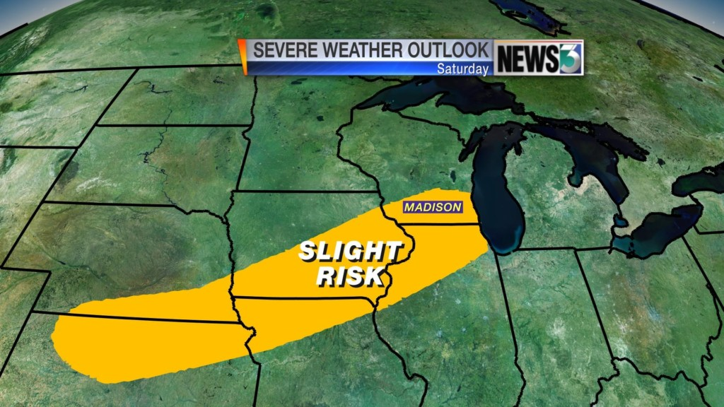 First chance of severe weather comes this weekend
