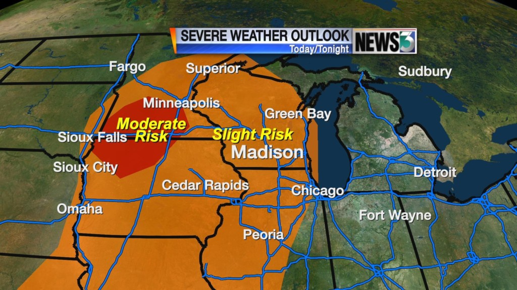 Thursday brings first chance of summer storms