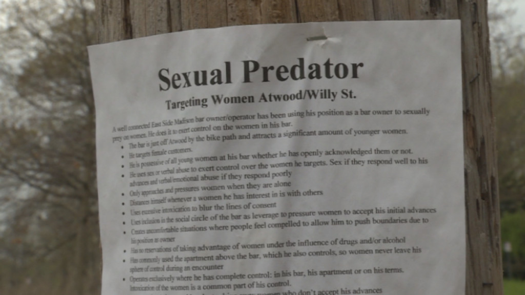Police asking for help in investigation of sexual predator flyers posted in Atwood community