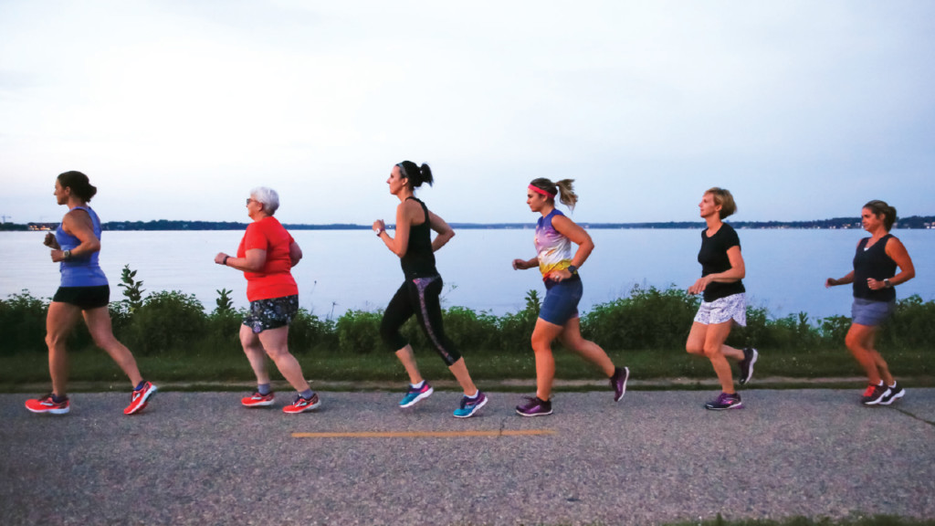 16 running clubs in the Madison area
