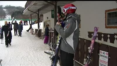 Winter weather enthusiasts get out before the deep freeze
