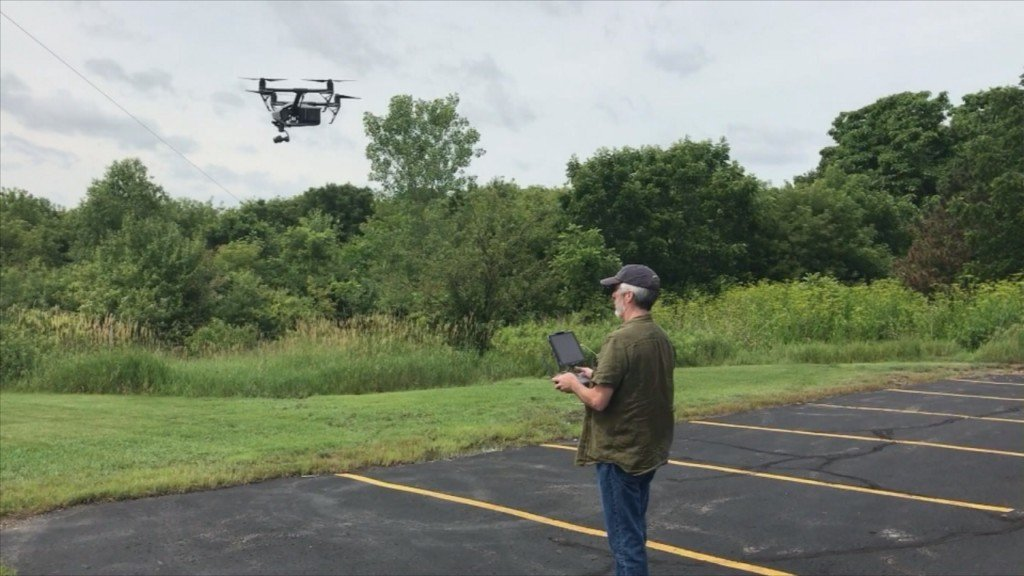 Drones becoming an integral part of newsgathering, require responsibility