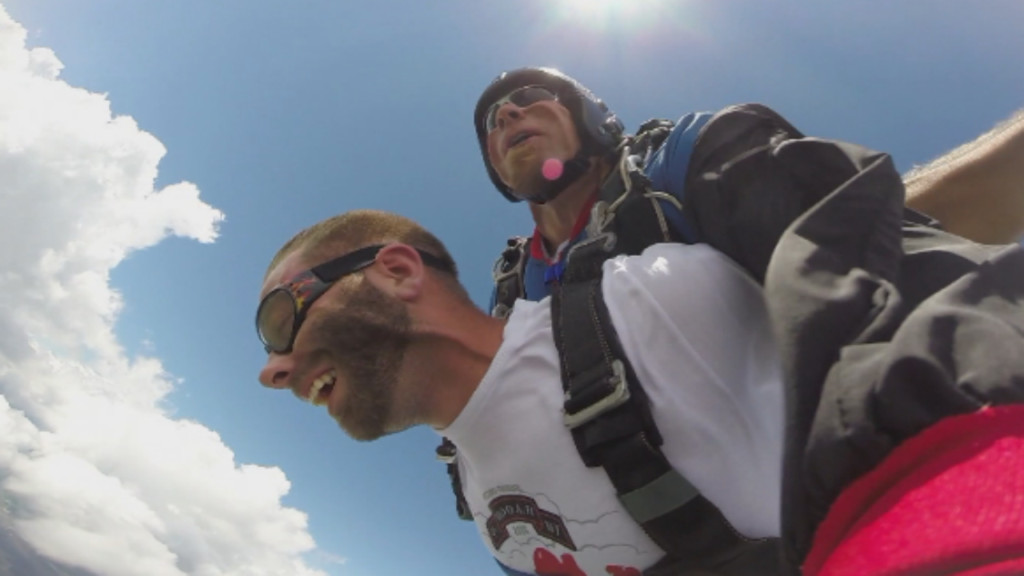 Nominate a veteran to skydive for free at event aimed at reducing PTSD, veteran suicides