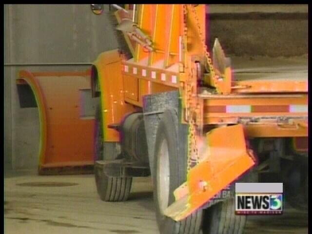 Crews prepare for the first sign of forecast snow