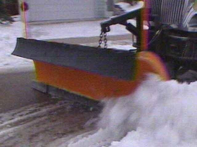 Cold weather forces street crews to use sand