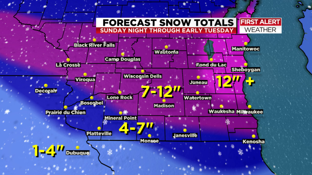 1-2 more inches possible with midday snow