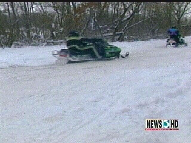 Man suffers injuries in snowmobile accident outside Monroe