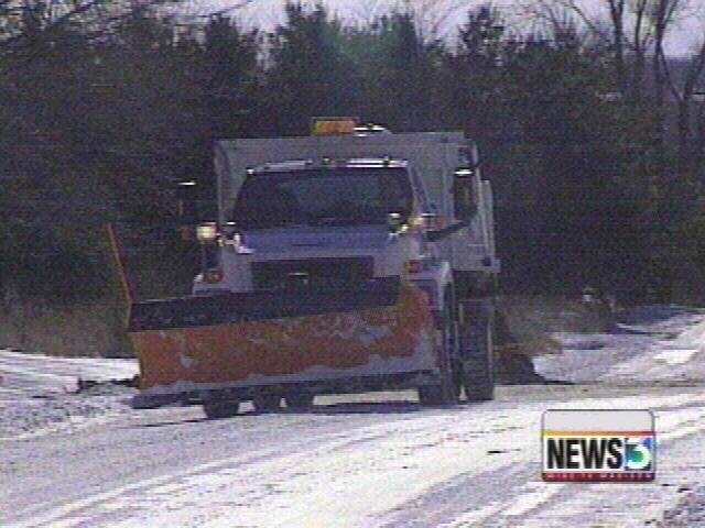 2 injured in crash with snowplow, officials say