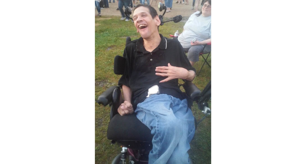 Author tells own story of life with cerebral palsy