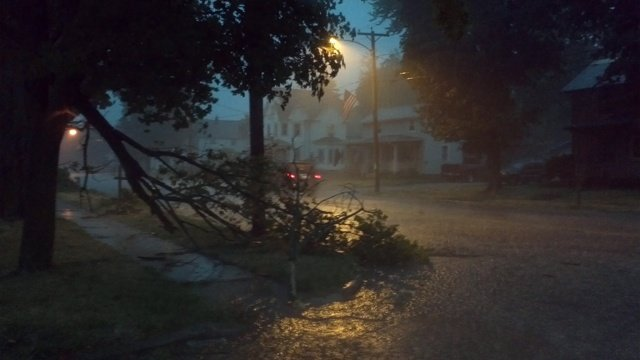 Storms cause damage, knock out power