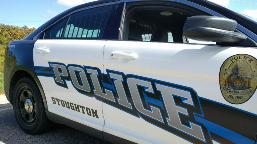 A Stoughton Police Department squad car