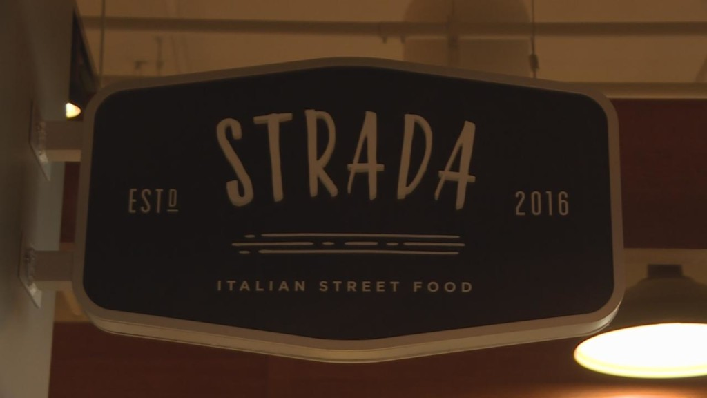 Strada serves up pizza in environmentally-friendly containers
