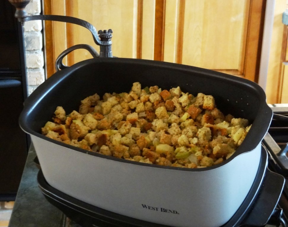Donna's Bread Dressing — Using A Slow Cooker