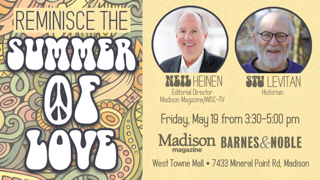 Attend this 'Summer of Love' discussion with Stu Levitan