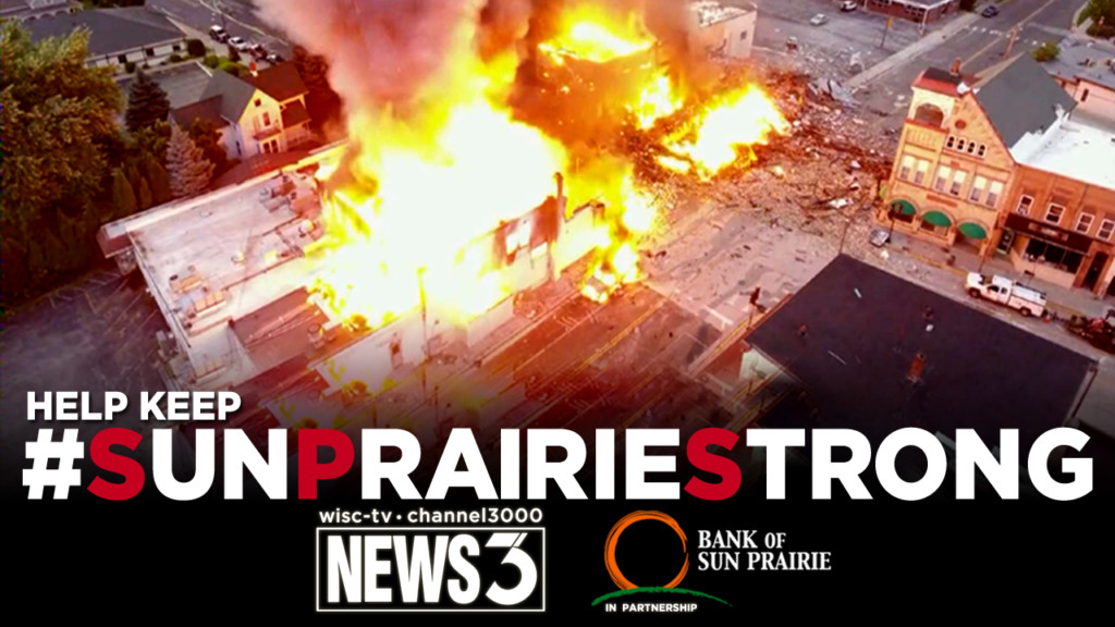 #SunPrairieStrong: WISC-TV News 3 to host all-day telethon Tuesday to benefit Disaster Relief Fund