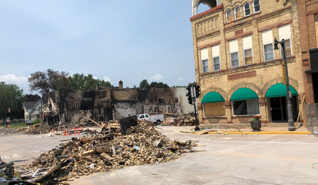 'People are in shock': Building owners start to repair damage after Sun Prairie explosion