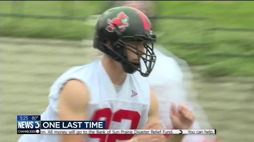 Sun Prairie football players proud to put on uniforms after explosion