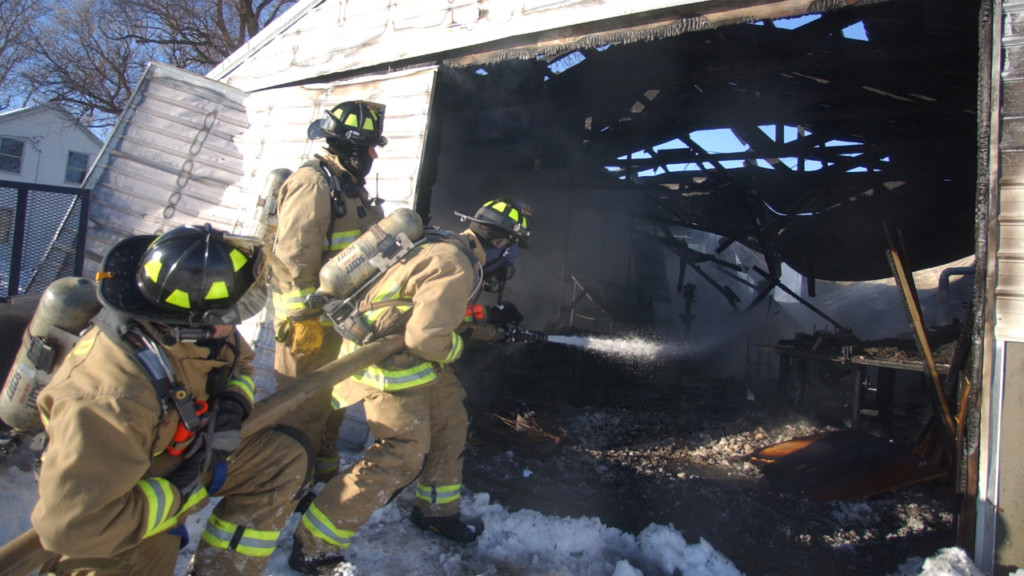 Storage building fire causes $45K in damage, officials say
