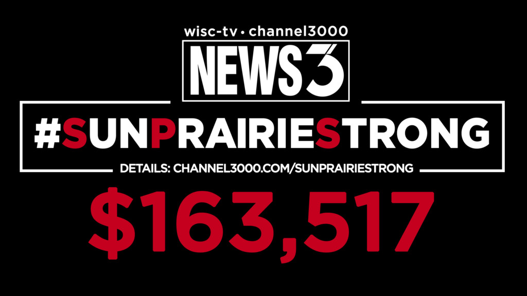 WISC-TV News 3 telethon raises more than $163K for Sun Prairie Disaster Relief Fund