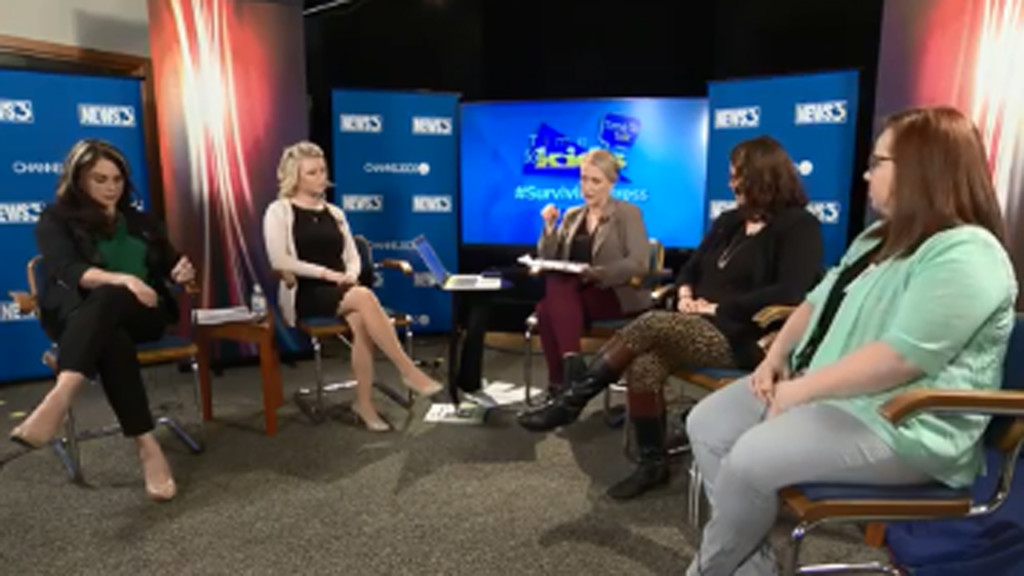 News 3, SSM Health take Time To Talk about #SurvivingStress during live event