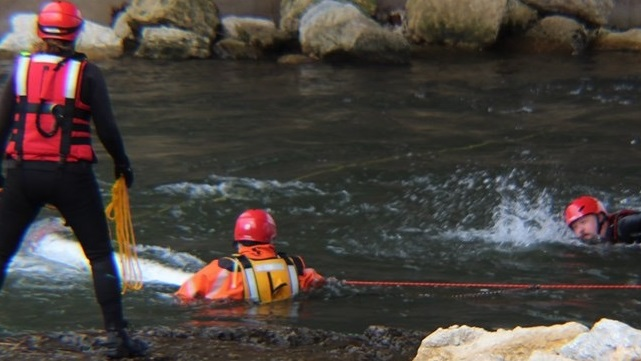Mazomanie Fire Department buys boats, trains in swift water rescue