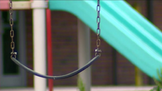 Accessible playground goes up at Brittingham Park