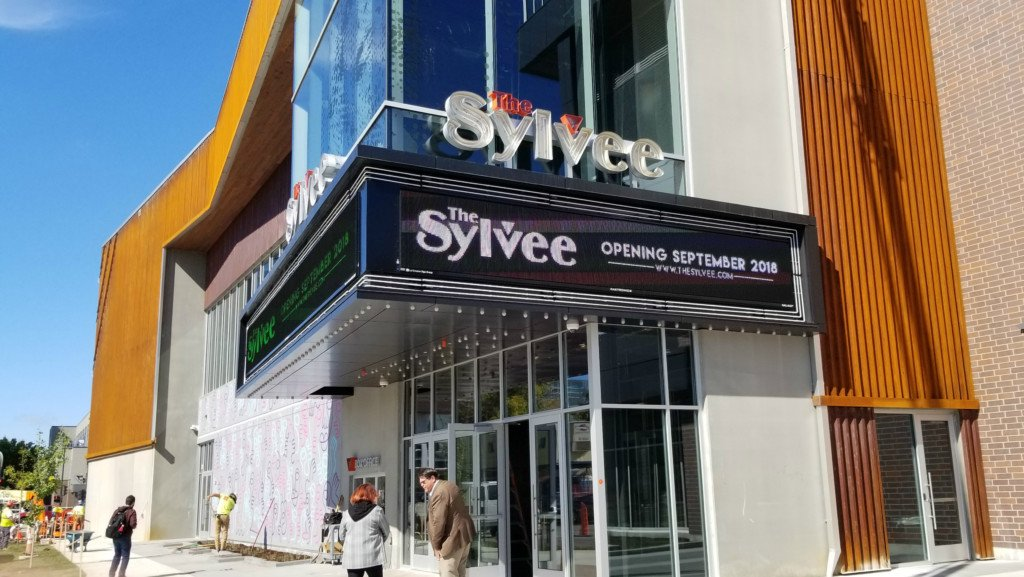 exterior of the sylvee