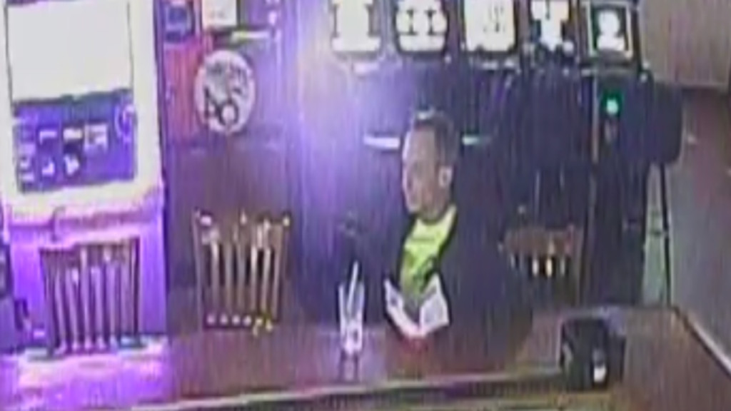 Police ask public for help identifying Taasbag bar theft suspect