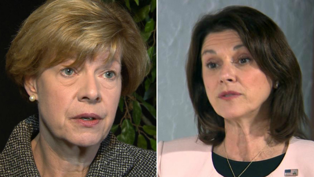 Poll shows wide margin in race for US Senate between Baldwin, Vukmir