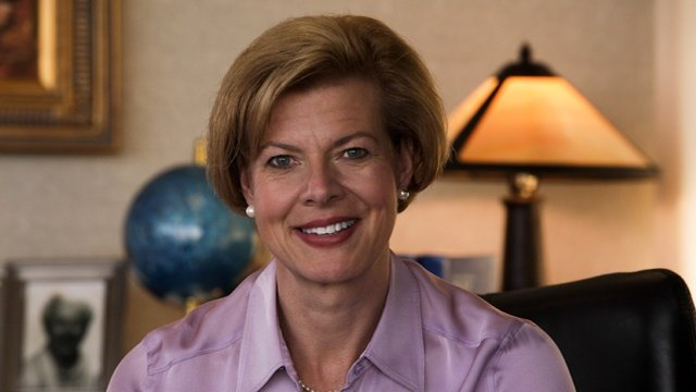 Tammy Baldwin's screenshot