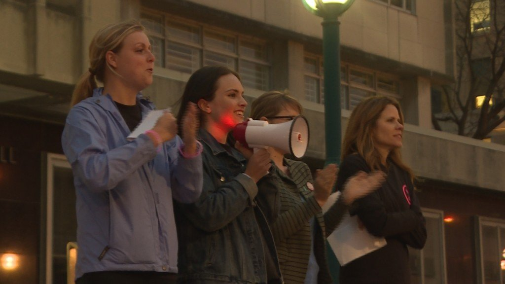 'Take Back the Night' from sexual assault 5k empowers women