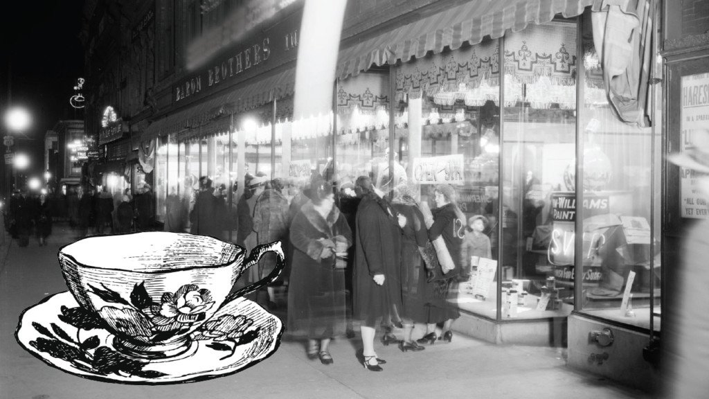 Remembering the department store tea room
