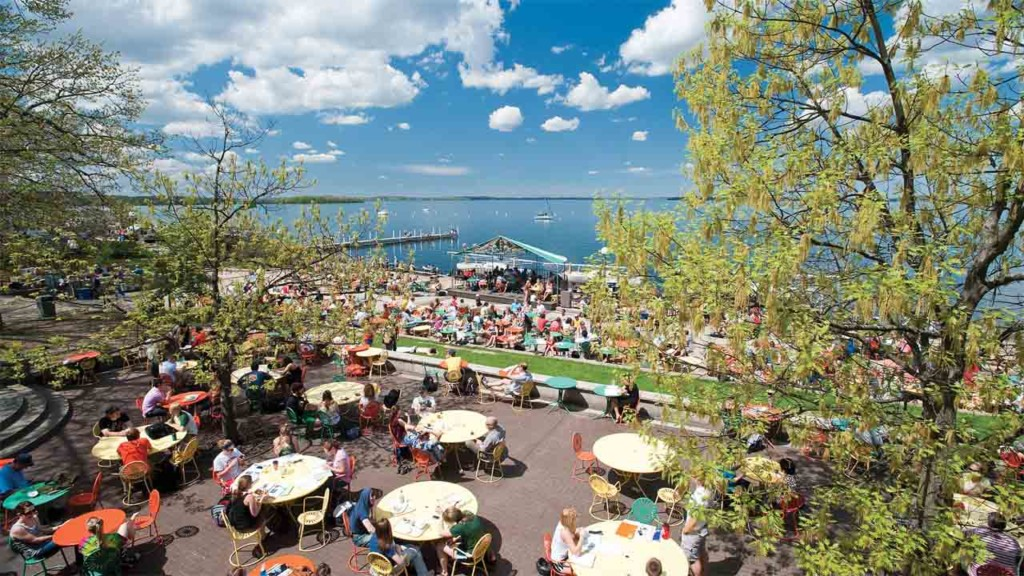 Terrace chairs returning to Memorial Union Thursday