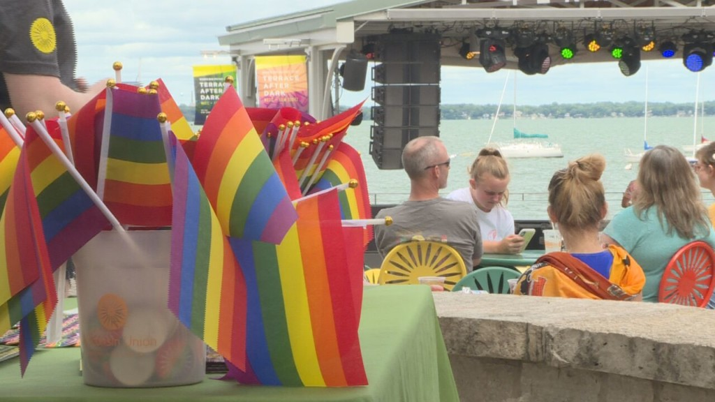 Memorial Union Terrace celebrates LGBTQ Pride for first time