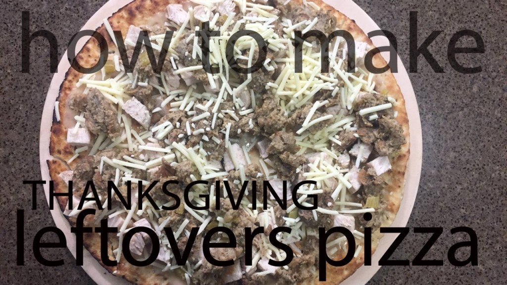 RECIPES: Thanksgiving-Leftovers Pizza, Brussels Sprouts Salad with Cranberries