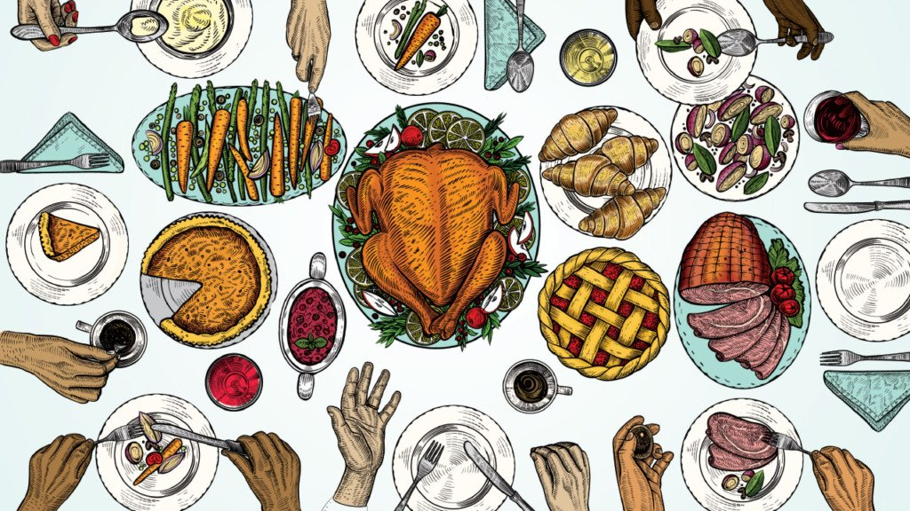 The feast of Thanksgiving