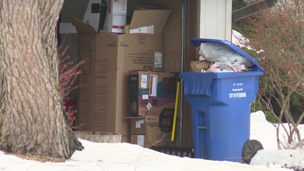Police urge caution when discarding holiday containers