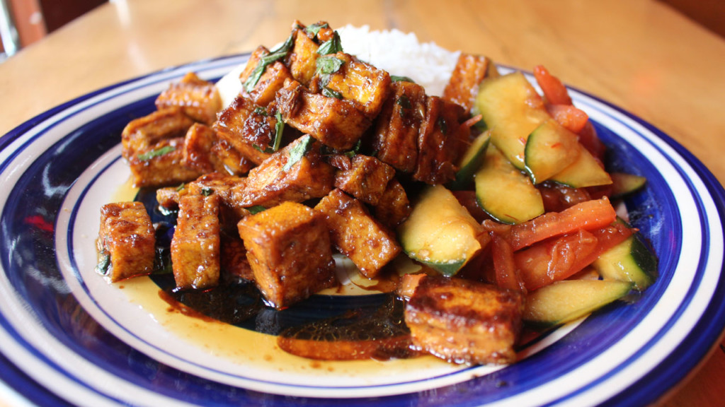 Meatless Madison: Three-cup tofu at Natt Spil