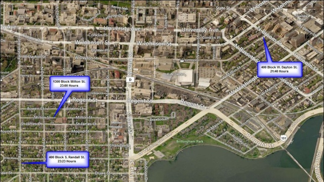 Police investigate three strong-armed robberies near UW campus