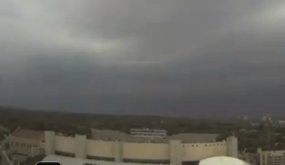 UW captures amazing time lapse video of Wednesday's storm